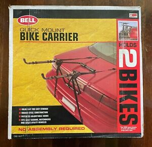 Bell Quick Mount 2 Bike Carrier for Car SUV Van - Double Rack OEM Quick Install