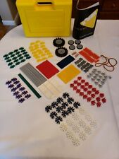 Knex Yellow carrying Case with building pieces Basic Set 30010
