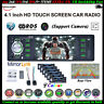 4,1'' 1 DIN RDS AM FM Autoradio Touch Screen Lettore MP5 AUX SD Stereo Bluetooth