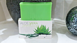 Aloe Vera Soap Bar Soothes Irritated Skin