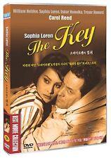 The Key (1958) / Carol Reed, Sophia Loren / DVD, NEW