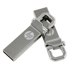 HP V250W 32GB USB 2.0 Thumb Flash Drive Metal Clip - Tracking ship
