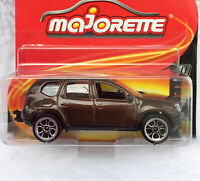 Majorette Dacia Duster Metallic Brown 1:64 225A Wheel 5HC Free Display Box