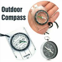 Useful Compass Travel Scale Ruler Base Plate Military Outdoor Compass Map