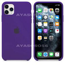FUNDA PARA IPHONE 11 PRO MAX XS XR X 7 8 PLUS ORIGINAL SILICONA OEM CARCASA CASE