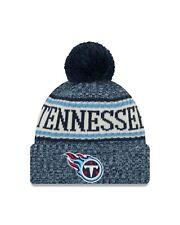 Tennessee Titans New Era  Sport Knit Sideline Knit Hat- Blue