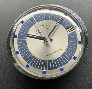 1970s SS Movado President Automatic Disco Volante Flying Saucer Cal 388