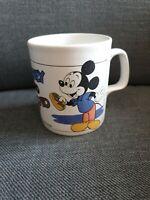 MICKY und PLUTO - Vintage Retro Tasse - Orginal Walt Disney, Staffordshire Craft