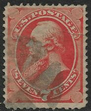 United States #149 7c. Stanton Issue Used Extra Fine Tear