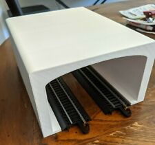 Double-wide Tunnel for HO Scale Train