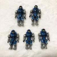 Mega Bloks Construx Halo UNSC Spartan Carter-A259 5 figures lot *New Usused* Toy