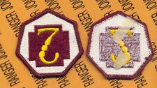 US Army 7th Medical Command Dress uniform patch