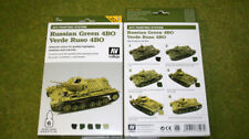Vallejo AFV Painting System RUSSIAN GREEN 4BO Acrylic Airbrush Paint set 78403