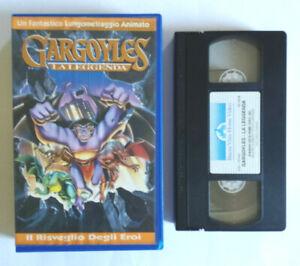 Vhs Film Ita Animazione Gargoyles La Leggenda Cartoni Buena Vista no dvd cd(V69)