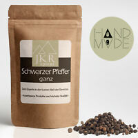 1000g Pfeffer schwarz ganz Pfefferkörner für Pfeffermühlen JKR Spices