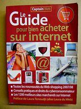 Le guide pour bien acheter sur internet 1200 sites par catégories  /I25