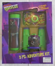 Adventure Kit TM NINJA TURTLES 35mm Camera Binoculars Flashlight 3 Pc Set