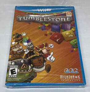 Tumblestone Nintendo Wii U *Factory Sealed! *Free Shipping!