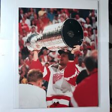 Nicklas Lidstrom Stanley Cup 8x10 Photo Reprint