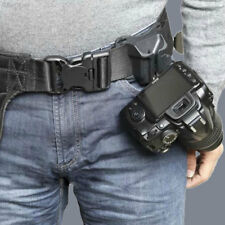 0521 85F6 Fast Loading Camera Photo Holster Waist Belt Button Straps Accessories