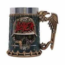 More details for new slayer skull tankard mug official uk licensed product boxed