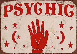 Metal Tin Sign psyghig   Pub Home Vintage Retro Poster Cafe ART