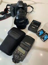Canon EOS 5D MK II DSLR Camera + 24-105 f1.4 L + Speedlite - Count 17,790!