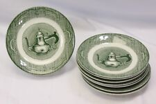 Royal The Old Curiosity Shop Saucers Lot of 8