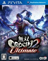 Used PS Vita Warriors OROCHI 2 Ultimate Japan Import Free Shipping