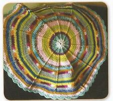 Crochet Pattern ~ Cobweb Baby Play Mat Afghan ~ Instructions