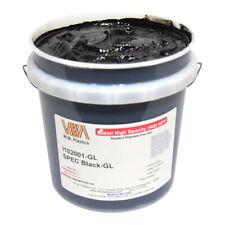 Spec Black Plastisol Ink Gallon