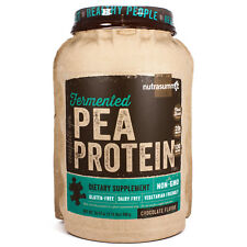 "Nutrasumma-Pea Protein ""Fermented"" Chocolate 34.57 oz( 2.16 lbs)"