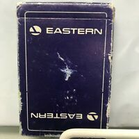 Vintage Eastern Airlines Playing Cards Deck Bridge Size