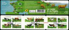 Carnet BC953 Les Vaches de 2014 oblitéré 1er jour non plié LUXE
