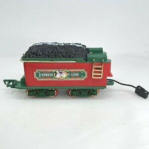 Vintage 1986 New Bright Christmas Frosty the Snowman Train Coal Tender Car