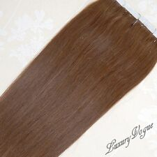 40Pcs 3M Tape-in Extensions 100% Human Hair Remy #6 (Dark Chocolate Brown)
