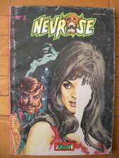BD : NEVROSE N° 2 – AREDIT ARTIMA 1979 – PETIT FORMAT ANGOISSE FANTASTIQUE