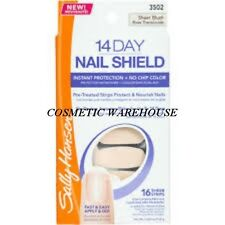 SALLY HANSEN 14 Day Nail Shield kit # SHEER BLUSH BNIB RRP$19.95