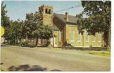 CHESTERTOWN MD Emmanuel Episcopal Church Vtg Postcard