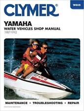 Yamaha Jet Ski PWC servicio de taller de 1987 a 1992 Reparación Manual Manual Clymer
