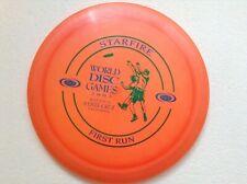 1st run Champion Starfire golf disc 175g. 2003 World Disc Games + poster. NEW