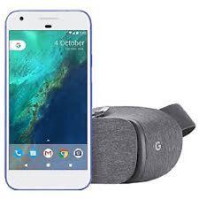 "GOOGLE PIXEL XL 5.5"" REALLY BLUE 32GB+Daydream VR Headset BUNDLE CDMA+GSM UNLOCK"