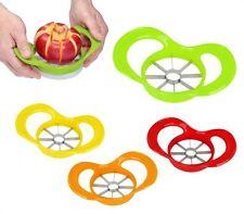 Taglia mela 8 SPICCHI lama in acciaio INOX taglia pomodori frutta idea regalo