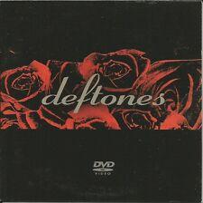 DEFTONES Ultra Rare 2003 PROMO VIDEO DVD w/ LIVEW FOOTAGE & Hexagram REHEARSAL