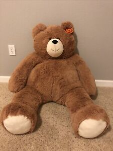 Vermont Teddy Bear Big Hunka Love Giant 4' Plush Stuffed Animal