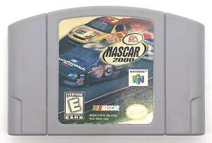 NASCAR 2000 Nintendo 64 N64 Authentic OEM Video Game Cart Racing Original Retro