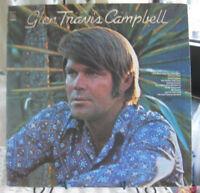 Glen Campbell Glen Travis Campbell Album Vinyl LP Record Album 1972 Excellent