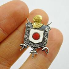 FENCING ESCRIME  SPORT PIN BADGE JAPAN JAPANISE VINTAGE SWORD 1940-1950