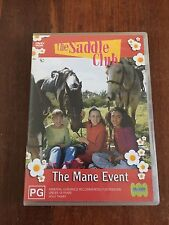 THE SADDLE CLUB THE MANE EVENT  DVD R4 AUS SELLER AUS RELEASE