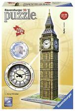 Puzzle 3D Big Ben, 216 pezzi, Orologio Funzionante, Ravensburger 12586